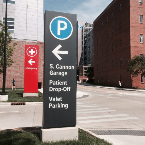 Ohio State Parking Garages
