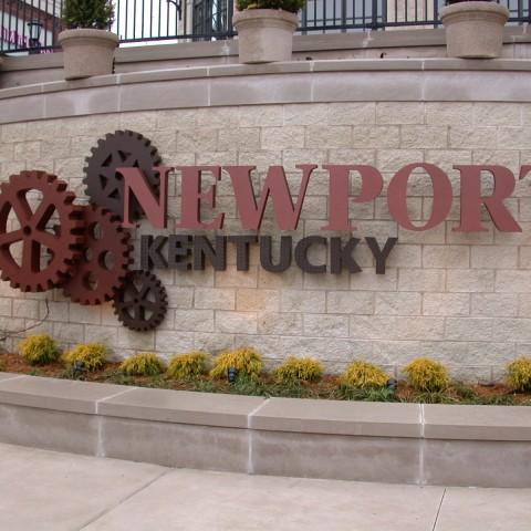 Newport KY Gears & Letters