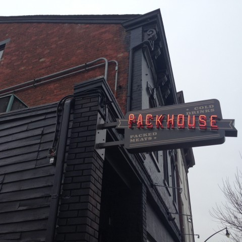 Packhouse Blade Sign