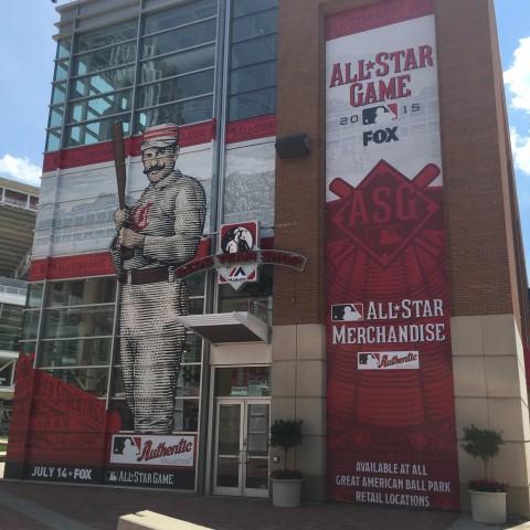 Cincinnati Reds Allstar Print