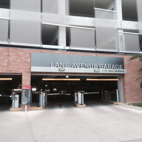 OSU Lane Ave Garage