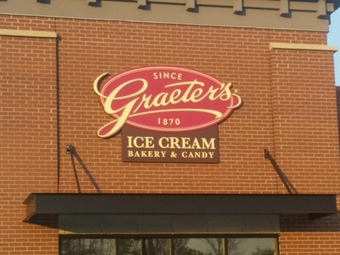 Graeter's Wall Sign