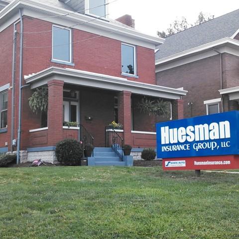 Huesman Ground Sign